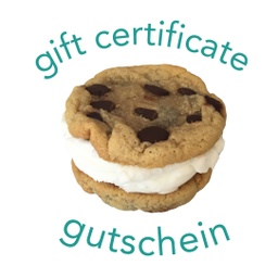 Gift Certificate (purchase link below)